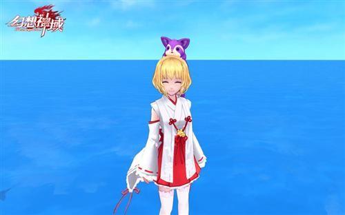 中的姬神秋沙,《犬神》里的芙拉诺,《幻想神域》的巫女服高度还原日式