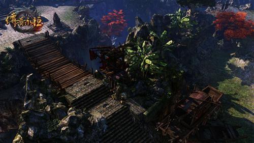 《传奇永恒》新野外地图赤月岛实景曝光