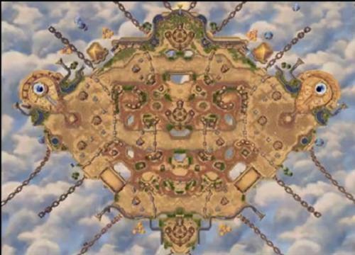 在地图中,古埃及风格的神殿,金字塔,埃及水利工程随处可见,让玩家能感