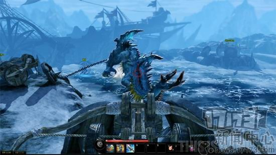 """该作采用了无锁定战斗方式,玩家在游戏中扮演找寻""""方舟""""(ark)并一步步图片"""
