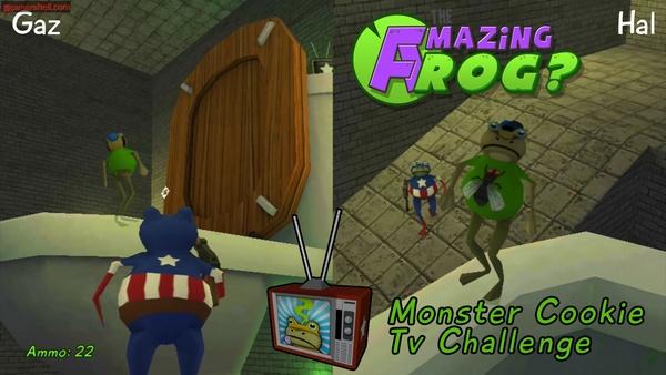跑酷游戏《神奇青蛙?