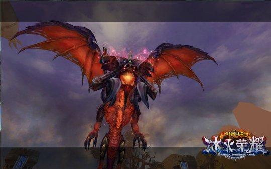 图3《神魔大陆》实景截图-团队副本屠龙要塞