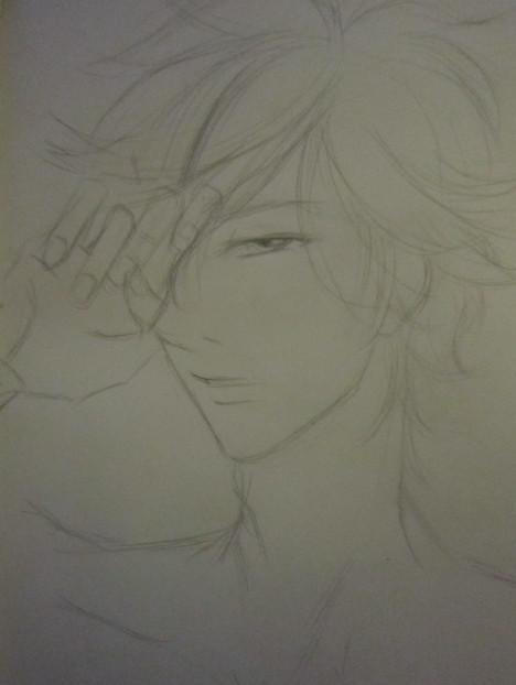 天龙八部玩家铅笔手绘:发型之绝代