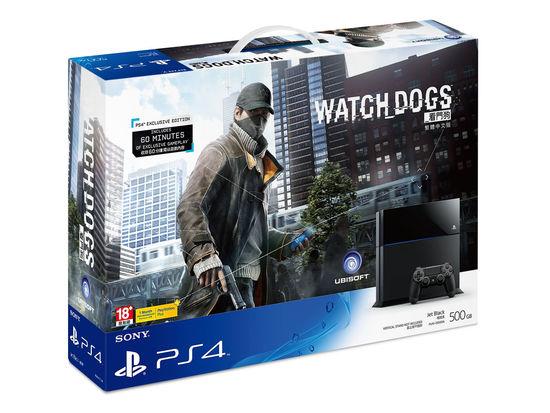 《看门狗》中文版PS4主机同捆组合装6月同步推出