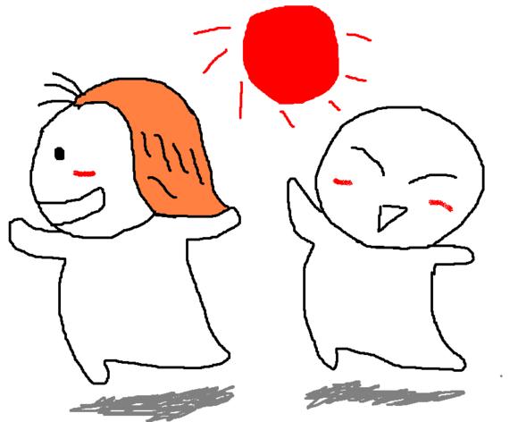 爆笑手绘漫画 我和我女友下篇