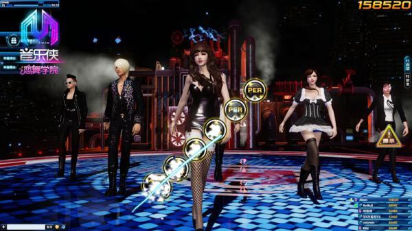 音乐侠恋舞学院 音乐舞蹈游戏的全球电竞梦
