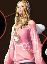 17173劍靈模型組 HelloKitty貓時裝下載