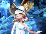 剑灵韩服超可爱的灵族萝莉棒球服展示