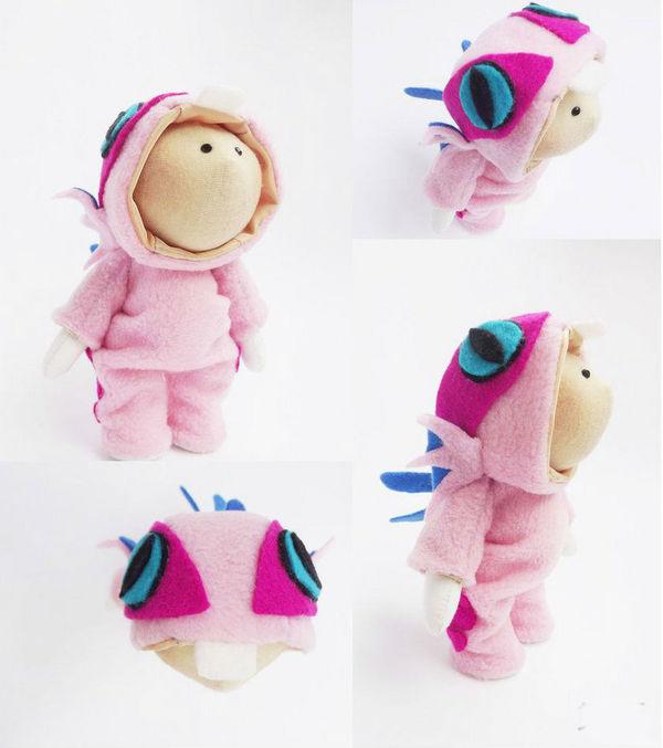 巧手玩家制作小鱼人服 宝贝的专属萌装