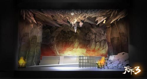 《天下3》首部舞台剧抢先看  【舞台搭建曝光】 现场的舞台设计会是