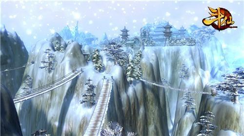 《斗仙》昆仑山唯美雪景图片