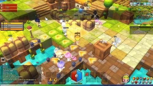 tab键查看小地图,m键查看大地图,这次测试玩家还是满多的,游戏分出了