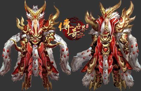 开心过大年 传奇世界 打造全新春节装备