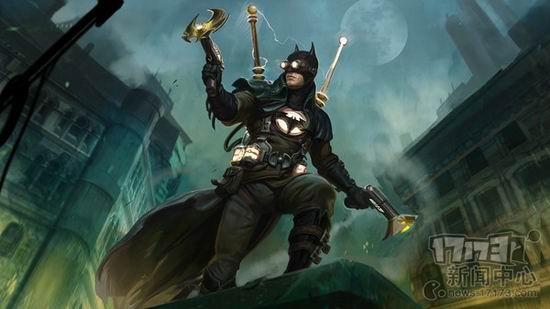 超人vs蝙蝠侠!moba网游《无限危机》即将运营