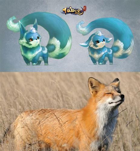 《仙途2》给狐狸萌宠增加了新的颜色,更有仙气了.