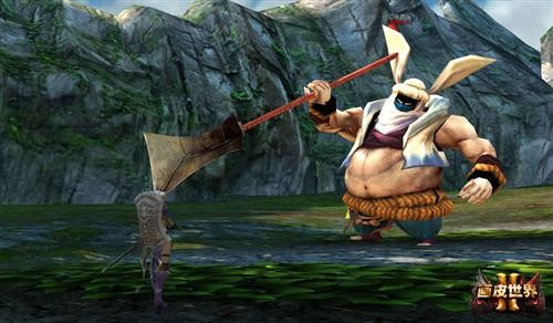 全新网游《画皮世界2》邪眼兔妖
