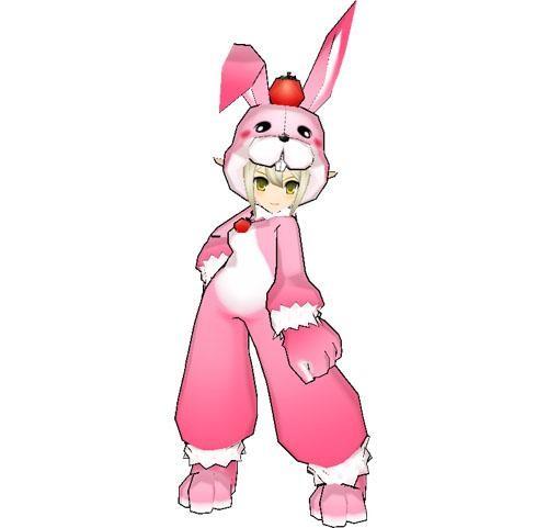 萌萌兔 艾尔之光 复活节一件套