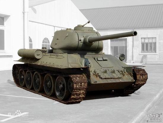 苏军t34
