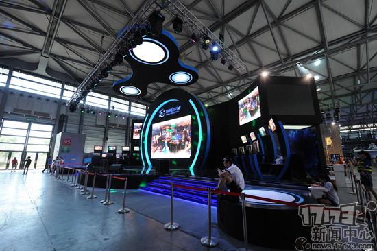 2015chinajoy顺网游戏展台一览