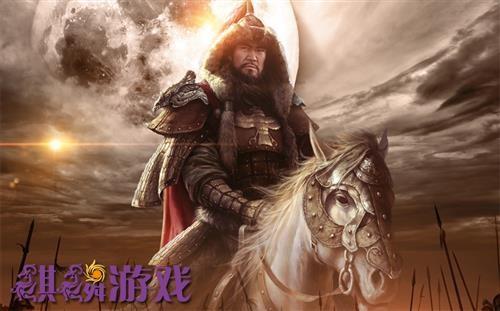 麒麟游戏《成吉思汗》系列海报