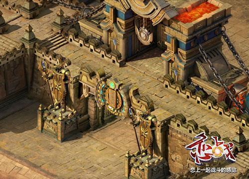 厚,高作为城墙的两大特点,要从建筑风格上表现出来的话,首先映入脑海