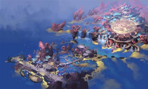 海族码头概念图