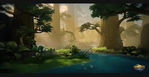 军团场景之边境之森