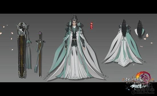 诗仙李白领衔 《剑网3》新门派长歌设定揭秘