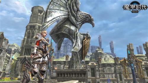 独具匠心《魔甲时代》名胜雕塑打造游戏场景