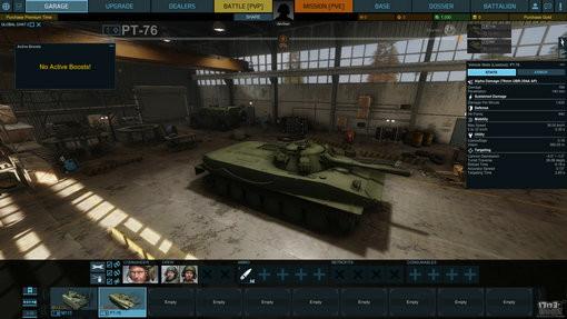 新游尝鲜坊:黑曜石坦克新作《装甲战争》试玩