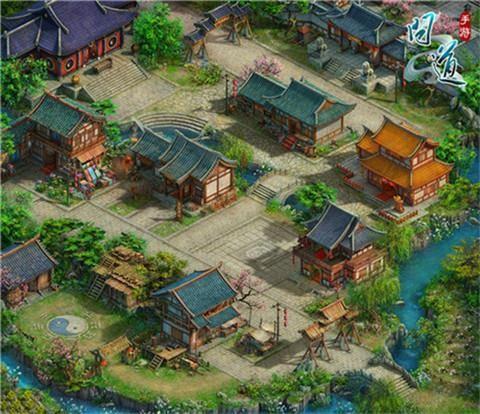 《问道》手游揽仙镇地图