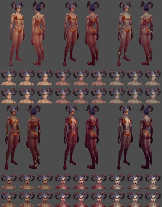 魔兽,7.0,恶魔猎手,模型最新图片