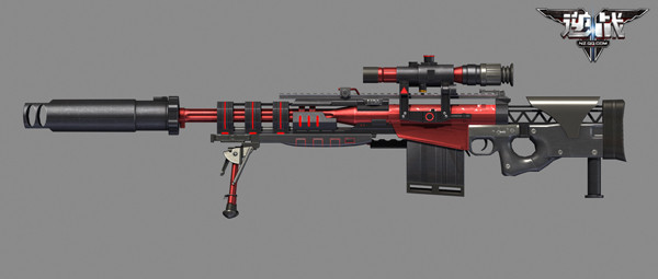 【圖文并茂】10月 盲狙利器-M107混沌