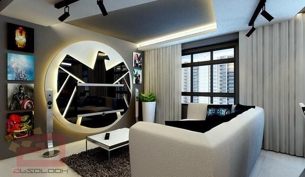 室内设计者联盟_漫威死忠花费巨额资金装修了个漫威主题房子_pc单机游戏_单机 ...