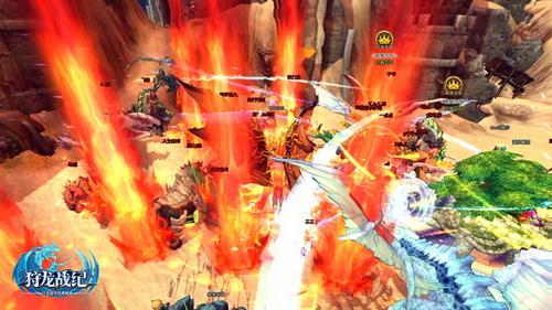 在烈焰中感受PK的快感吧!