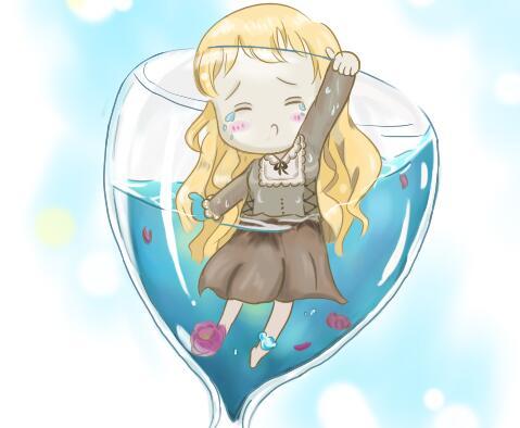 玩家手绘 十二英雄版之水瓶座奥吉德娜