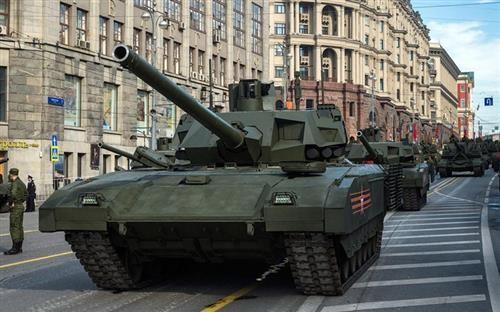 t14阿玛塔现身 最后一炮玩家自制俄系坦克线