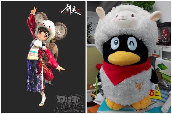 【17173专稿,转载请注明出处】 腾讯作为中国最大的游戏公司,如今影响力已经渗透到很多游戏里了。腾讯旗下的游戏中,有很多都植入了企鹅的形象,并且这些形象在外服也有出现,可以说企鹅已经遍布世界也不为过。今天17173就为大家那些强行植入腾讯企鹅形象的游戏。 剑灵 《剑灵》是腾讯本地化最彻底的游戏之一,而在8月份推出的宠物系统,恐怕也是国服的创意。企鹅作为首发的一批宠物,虽然感觉萌萌哒,但是!麻麻这画风不对啊!说好的跟召唤的猫咪一样萌呢! 另外,2015年《剑灵》曾推出过一款头饰,和腾讯羊年企鹅公仔比