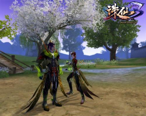 《诛仙3》新年换新装 神兽烛龙装