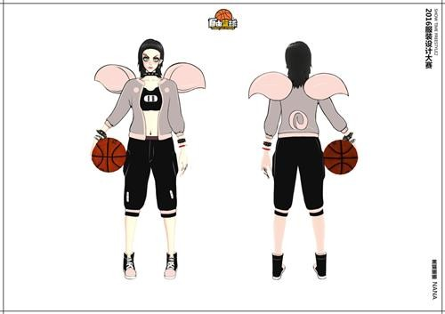 开脑洞拼创意! 《自由篮球》服装设计大赛展示图片
