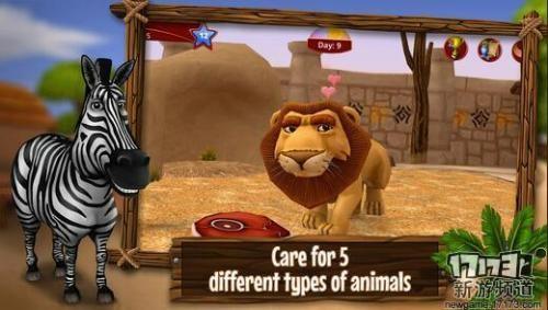 养小动物大家应该都挺喜欢的吧,本款游戏便是养动物为题材制作的
