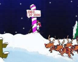 为了配合圣诞节的到来,我们也趁来把网吧的qq改造成有圣诞风味的特色图片