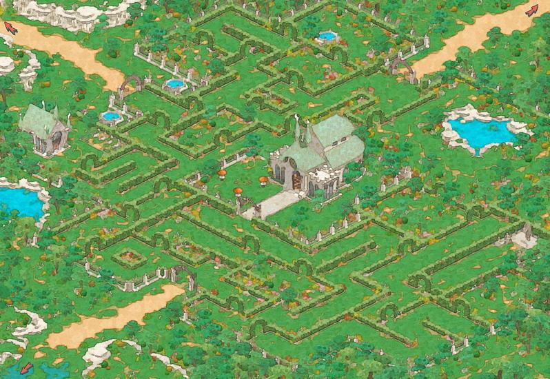 rpg古风地图素材
