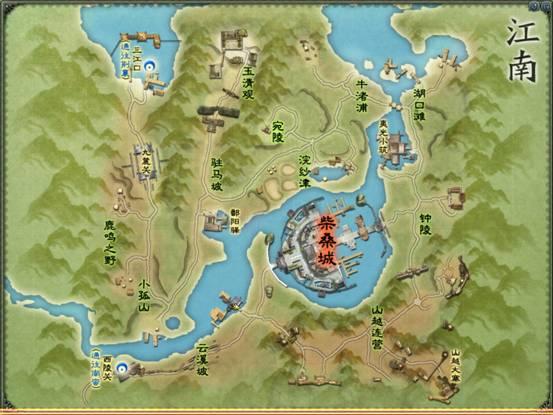 江南地图: &nbsp