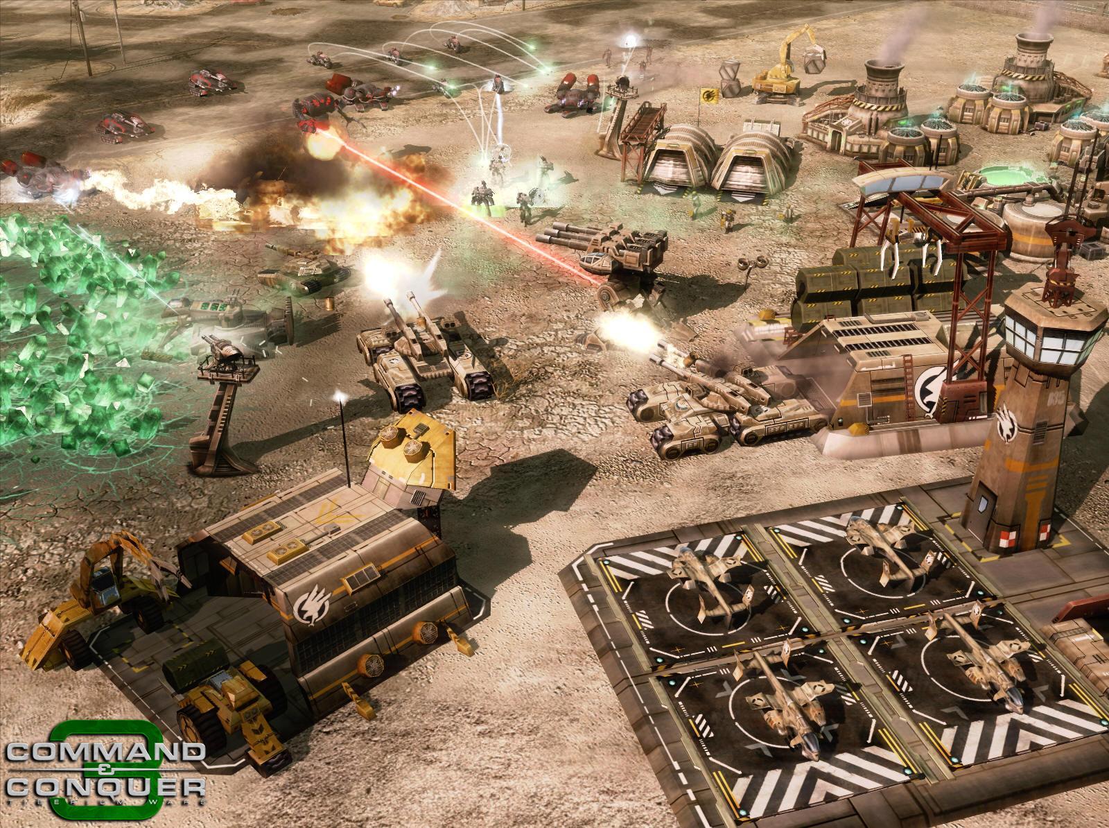 《命令与征服3》最新战斗画面