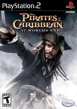 标题: 《加勒比海盗3》ps2游戏封面欣赏