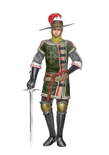 标题: 《百年战争》华美欧式人物设定欣赏