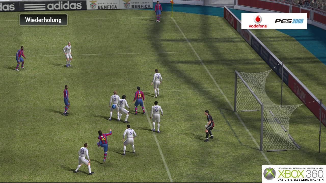 《实况足球11(pes)》新游戏画面 _电视游戏_; 《职业进化足球2008》