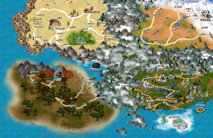 天晴数码_17173.com网络游戏:《幻灵游侠》专区-地图指南