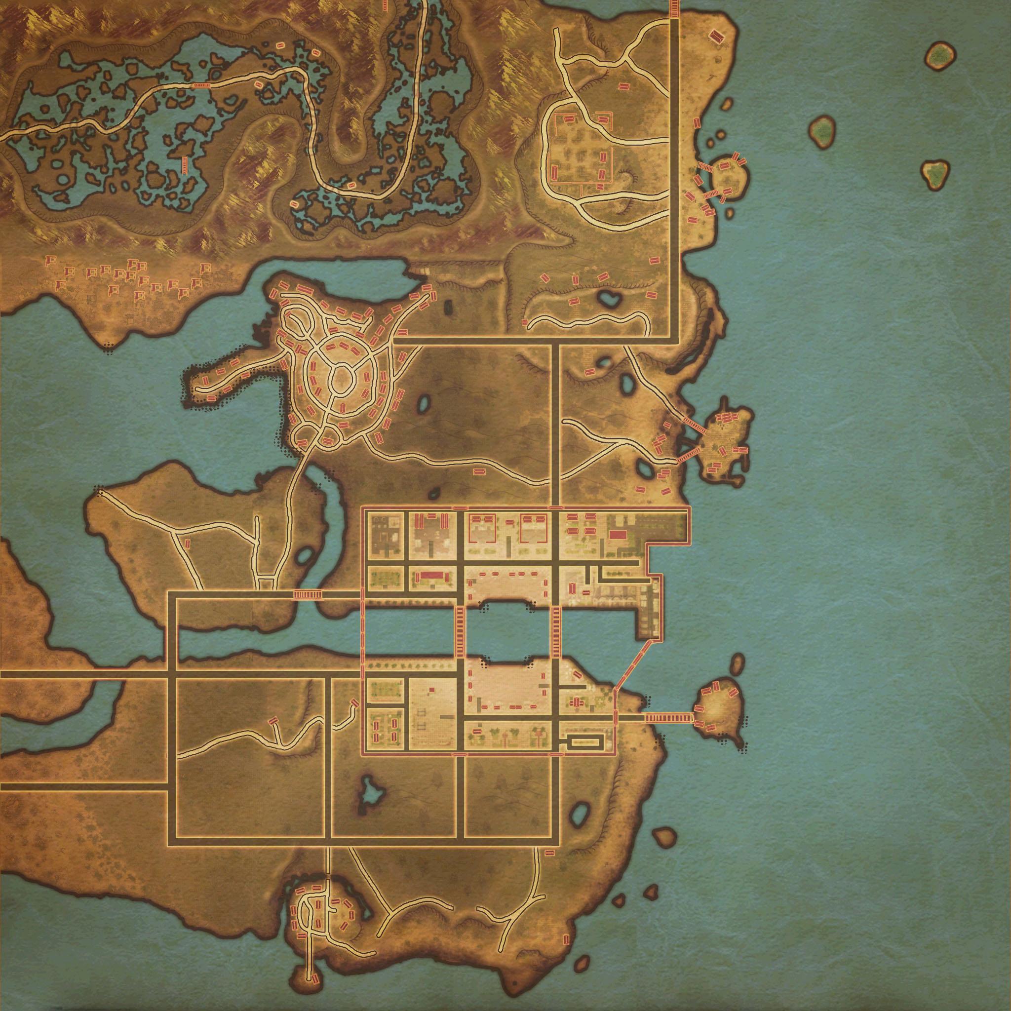 专区--各城镇地图